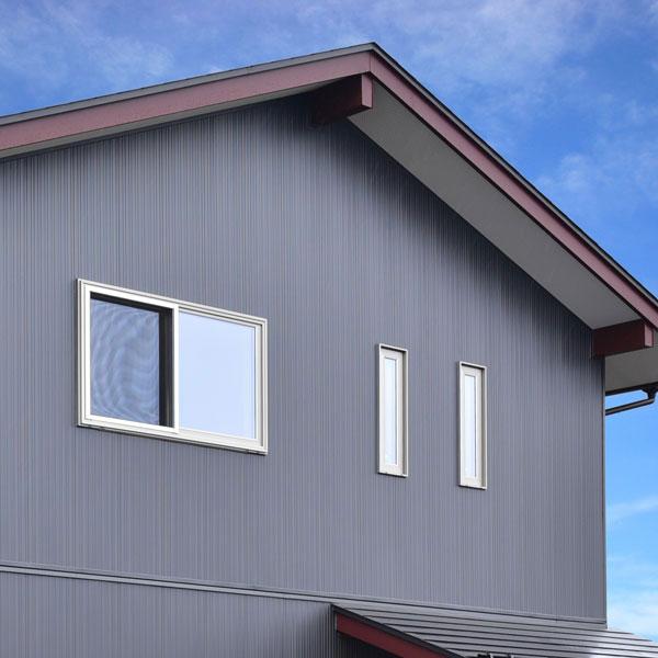 窓の位置や大きさを工夫