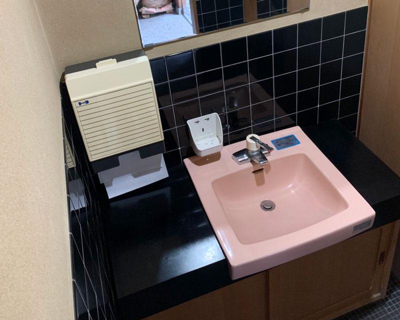 手洗い改修前